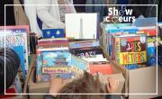 Vente de livres et de jeux
