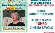 Jean-Claude Mourlevat à la médiathèque de Carbon-Blanc