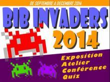 Affiche Bib Invaders Le Haillan 2014