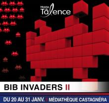 Talence / Bib invaders II / exposition