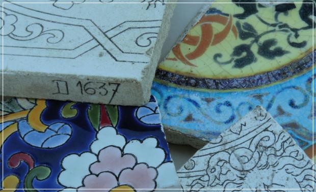 Exposition De terre, de pierre et de couleur