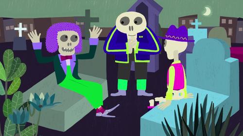 Los dias de los muertos